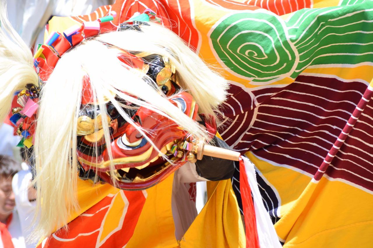 みとん今治,野間日吉神社,春祭り,継ぎ獅子,イベント,