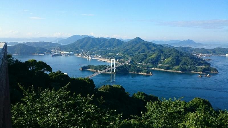 みとん今治,カレイ山,しまなみ海道,絶景,登山