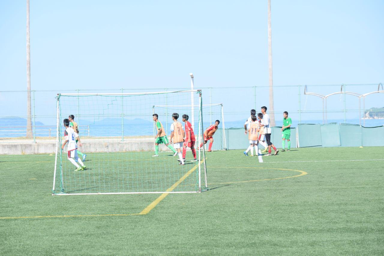 みとん今治,FC今治,バリカップ,桜井ふれあい海浜広場,サッカー
