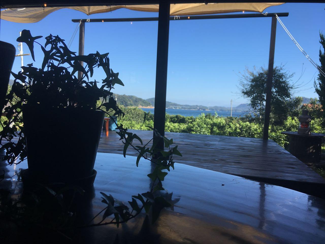 みとん今治,大三島オミシマコーヒー焙煎所,絶景,カフェ,コーヒー
