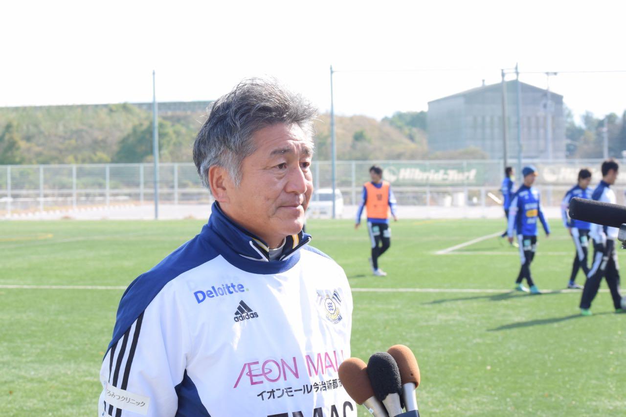 みとん今治,FC今治,2017,新シーズン,桜井ふれあい海浜広場,吉武監督