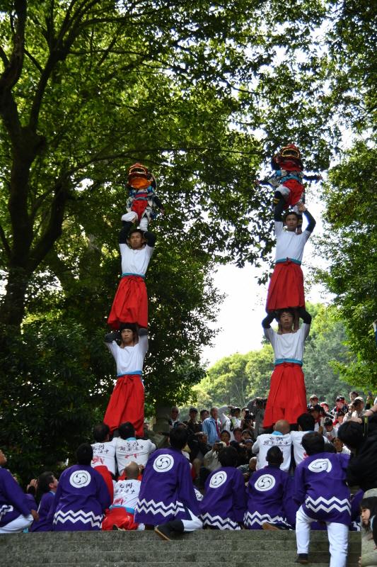みとん今治,春祭り,継ぎ獅子,イベント,伝統芸能