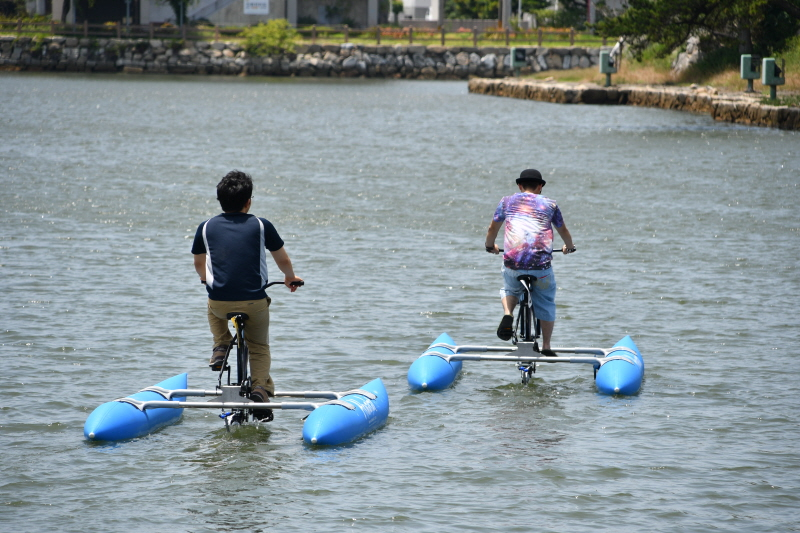 みとん今治,イベント,海上自転車,今治城