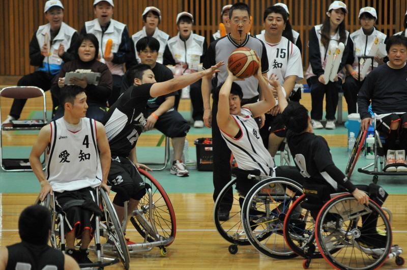 みとん今治,えひめ国体,皇太子,今治市営体育館,バスケット,車椅子