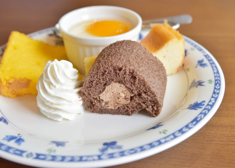 ehime, imabari, うさぎとねこ, みとん今治, みとん盛り, ケーキ, スイーツ, ランチ, 今治, 和食, 女子会, 愛媛, 民家カフェ, 自家製ケーキ
