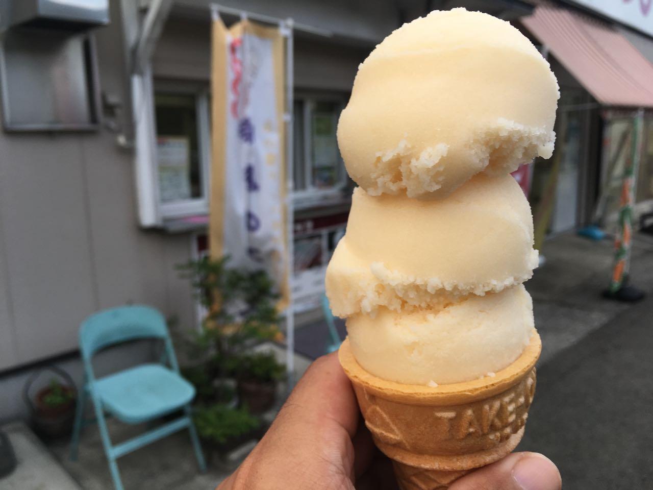 ehime, imabari, にっし〜, みとん今治, アイス, 今治, 峠のアイス, 愛媛, 菊間